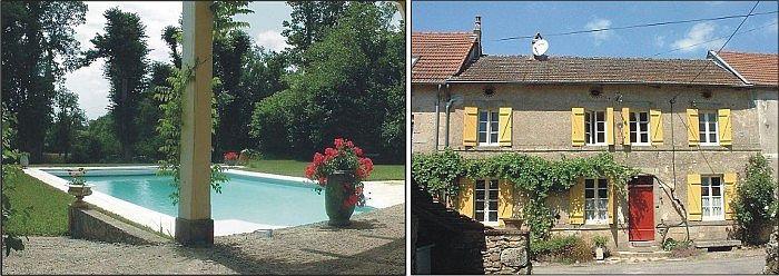 Limoges limousin holiday rental ambazac - Piscine maison nuit limoges ...